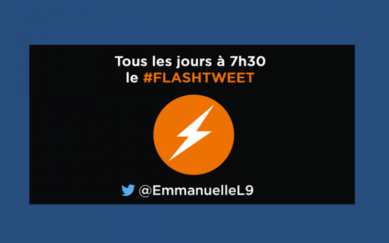 Le mode d'emploi du #FlashTweet